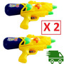 Pistola Lanza Agua Grande X 2 Unidades. Envio Gratis