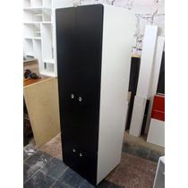 Placard Divisor - 4 Puertas - Barral Y Estantes - 3 Colores