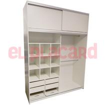 Hotsale Placard 20%off 180x240 Melamina 18mm Riel Aluminio