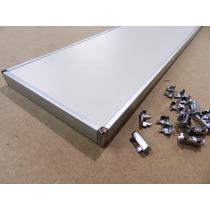 Perfil Tapacanto U 18mm Aluminio Anodizado 3mts