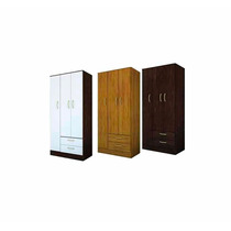 Placard Ricchezze 3 Puertas 2 Cajones L Tana Simil Platinum