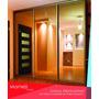 Frente De Placard Espejado 3,50x2,60 3ptas Martelli Design