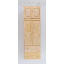Ropero Puerta C/ Bisagra Y Alzada De 0,80cm De Pino Macizo