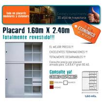 Placard Melamina 160 X 240 Blanco