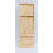 Ropero Puerta C/ Corrediza Y Alzada De 0,80cm De Pino Macizo