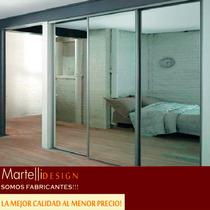 Frente De Placard Espejado 2.50x2.60 3ptas.martelli Design