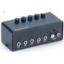 Sound Card Mesclador Switching Box Externa Ipad/ipod/mac/mac