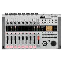 Zoom R24 Placa Externa Producción Musical