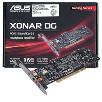 Placa De Sonido Asus Xonar Dg 5.1 Dolby Headphone Pci