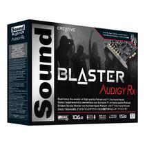 Placa Sonido Creative Sound Blaster Rx Pci Ex - 24bit 192khz