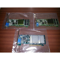 Placas De Video Xfx Geforce 2 Mx400 Agp 8x/4x/2x 64mb Tv-out