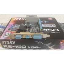 Placa De Video Ati Radeon - Msi R5450 | 1gb Ddr3