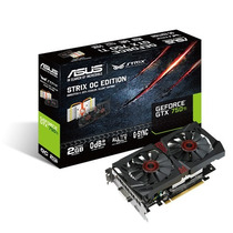 Asus Geforce Gtx750 Ti Strix Oc 2gb Pci-e / Gtx 750 / Hdmi