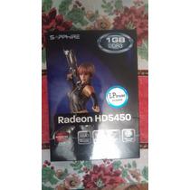 Amd Radeon Sapphire Hd 5450 1gb Ddr3