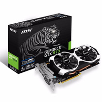 Placa Video Nvidia Geforce Msi Gtx 970 4gb. Oc Ddr5