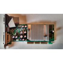 Placa Video Agp Nvidia Geforce 6200 256mb Ddr Tv Out Dvi Vga