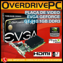 Video Geforce G210 1gb Ddr3 Hdmi Dvi Vga Gt 210 Pci-e 2.0