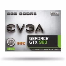 Placa De Video Evga Geforce Gtx 960 2gb Gddr5 Xtreme Nvidia