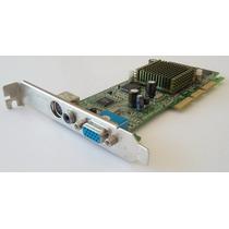Placa De Video Xfx Geforce2 M64 Mx400 64mb Agp Tv-out Svideo