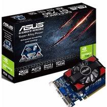 Placa De Video Gt 730 2gb Ddr3 Asus Nvidia Geforce Gamer