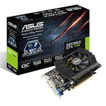 Placa De Video Asus Gtx750 1gb Ddr5 Oc Gtx750-phoc-1gd