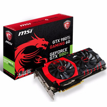 Video Nvidia Geforce Msi Gtx 980 Ti Gaming 6gb Gddr5 Hdmi