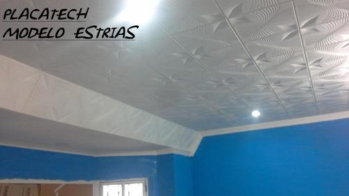 Placatech placas antihumedad decorativas techo y pared - Placas decorativas pared ...