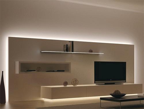 Plafon tira led luz fria 40 cm directo 220 v multifuncion - Iluminacion tiras led ...