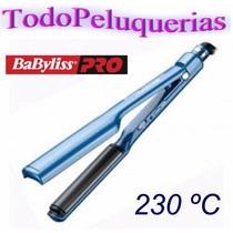 Planchita Baby Liss Nano Titanium Placa Curva 2 En 1+soporte