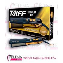 Planchita De Pelo Taiff Titanium 450 Profesional Ion