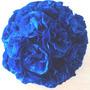 Esferas Con Flores De Papel - Colgantes O Centros De Mesas