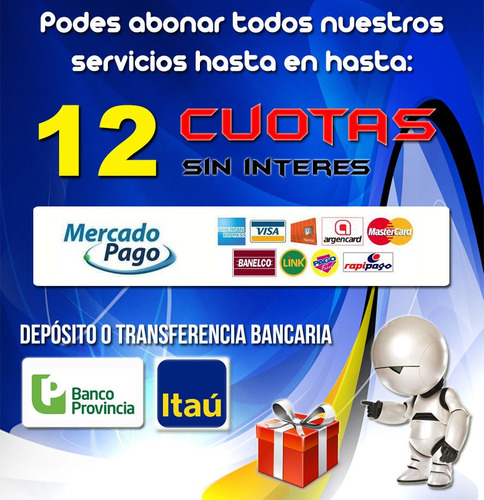 Plantillas Mercado Libre Diseño Web Logos Editables Páginas