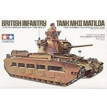 Matilda Mk Ii - Escala 1/35 Kit Tamiya