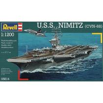 U.s.s. Nimitz (cvn-68) Revell 05814 Escala 1/1200
