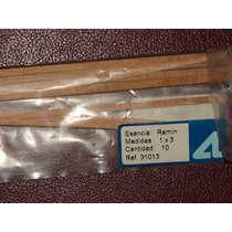 Artesania Latina Varillas De Madera 1 X 3 Ramin