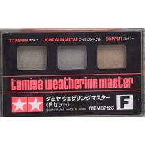Tamiya 87123 Weathering Master F- Titanium Light Gun Metal