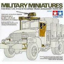 Acesorios P/gmc 6x6 Cargo 2 1/2 Tn - Esc 1/35 Kit Tamiya-