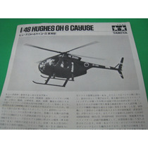 Hughes Oh-6 Cayuse Helicoptero Tamiya Escala 1748