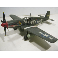 1/48 Avión Armado P-51 B-7-na Mayor Dominic Don Gentile