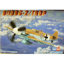 Hobbyboss 1/72 Bf109g-2/trop Easy Kit