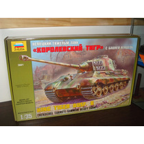 King Tiger Zvezda 1/35 Mercadoenvios Temeprley/caballito