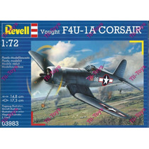 Avion Revell F4u-1d Corsair P/armar 1:72 Kit 03983