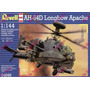 Helicoptero Revell Ah-64d Long Apache P/armar 1:144 Kit04046