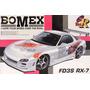 Auto Para Armar 1/24 Mazda Rx7 Fd Bomex