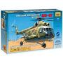 Mil Mi-8t Soviet Helicóptero Zvezda 7230 Escala 1/72