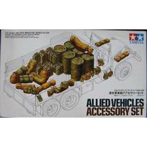 Maqueta P/armar Set Accesorios Aliados Tamiya 35225