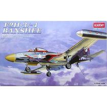 F2h 3/-4 Banshee Avion Academy 1626 Escala 1/72 Maqueta