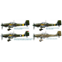 Ju 87 D5 Stuka Bombardero Alemán Italeri 2709 Maqueta 1/48