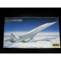 Avion Heller Concorde Air France Maquetas Para Armar Heller