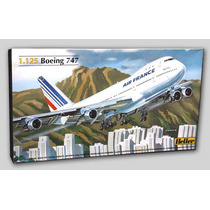 Avion Boeing 747 Air France Maquetas Para Armar Heller 1/125